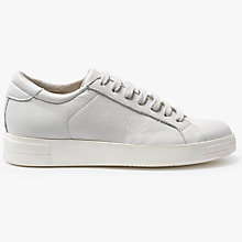 Buy Kin by John Lewis Engel Lace Up Trainers, White Online at johnlewis.com