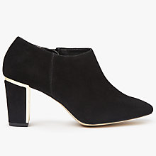 Buy John Lewis Made in England Winnie Wide Fit Shoe Boot, Black Online at johnlewis.com