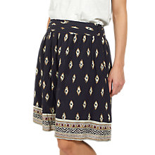 Buy Fat Face India Savanna Geo Skirt, Phantom Online at johnlewis.com