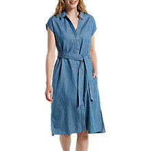 Buy White Stuff Goa Midi Length Denim Shirt Dress, Blue Online at johnlewis.com