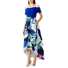 Buy Coast Howea Palm Print Skirt, Multi Online at johnlewis.com