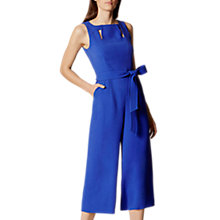 Buy Karen Millen Cut Out Detail Jumpsuit, Blue Online at johnlewis.com