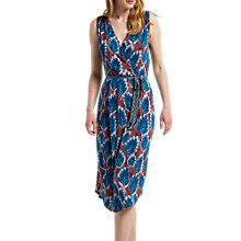 Buy White Stuff Avery Jersey Dress, Red/Blue Online at johnlewis.com