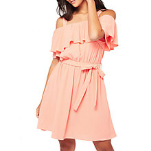 Buy Miss Selfridge Cold Shoulder Ruffle Dress Online at johnlewis.com