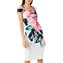 Buy Coast Flamenco Shift Dress, Multi Online at johnlewis.com