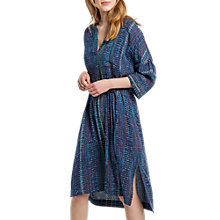 Buy White Stuff Nordie Dress, Waterfall Blue Print Online at johnlewis.com