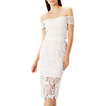 Buy Coast Melva Lace Skirt, Ivory Online at johnlewis.com
