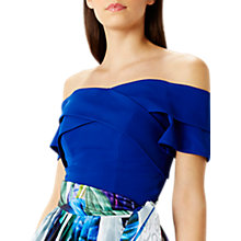 Buy Coast Sima Structured Top, Cobalt Blue Online at johnlewis.com