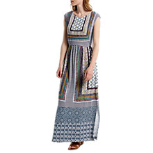 Buy White Stuff Tribal Trail Jersey Maxi Dress, Multi Online at johnlewis.com