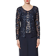 Buy Gina Bacconi Sequin Lace Jacket Online at johnlewis.com