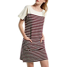 Buy White Stuff Kora Stripe T-Shirt Dress Online at johnlewis.com