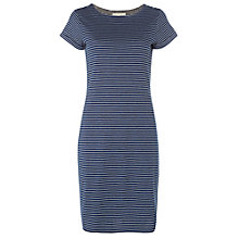 Buy White Stuff Annelise Dress, Navy Stripe Online at johnlewis.com