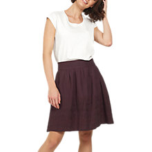 Buy Fat Face India Embroidered Skirt Online at johnlewis.com