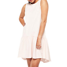 Buy Miss Selfridge Petite High Low Hem Dress, Pink Online at johnlewis.com