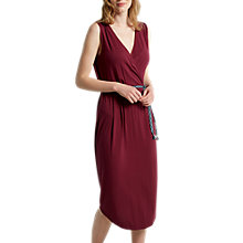 Buy White Stuff Avery Jersey Dress, Dessert Red Plain Online at johnlewis.com
