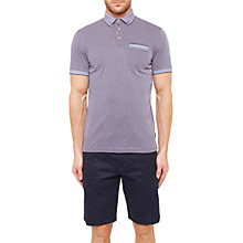 Buy Ted Baker Shapiro Oxford Flat-Knit Polo Shirt Online at johnlewis.com
