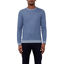 Buy Ted Baker Kaspa Crew Neck Jumper, Light Blue Online at johnlewis.com
