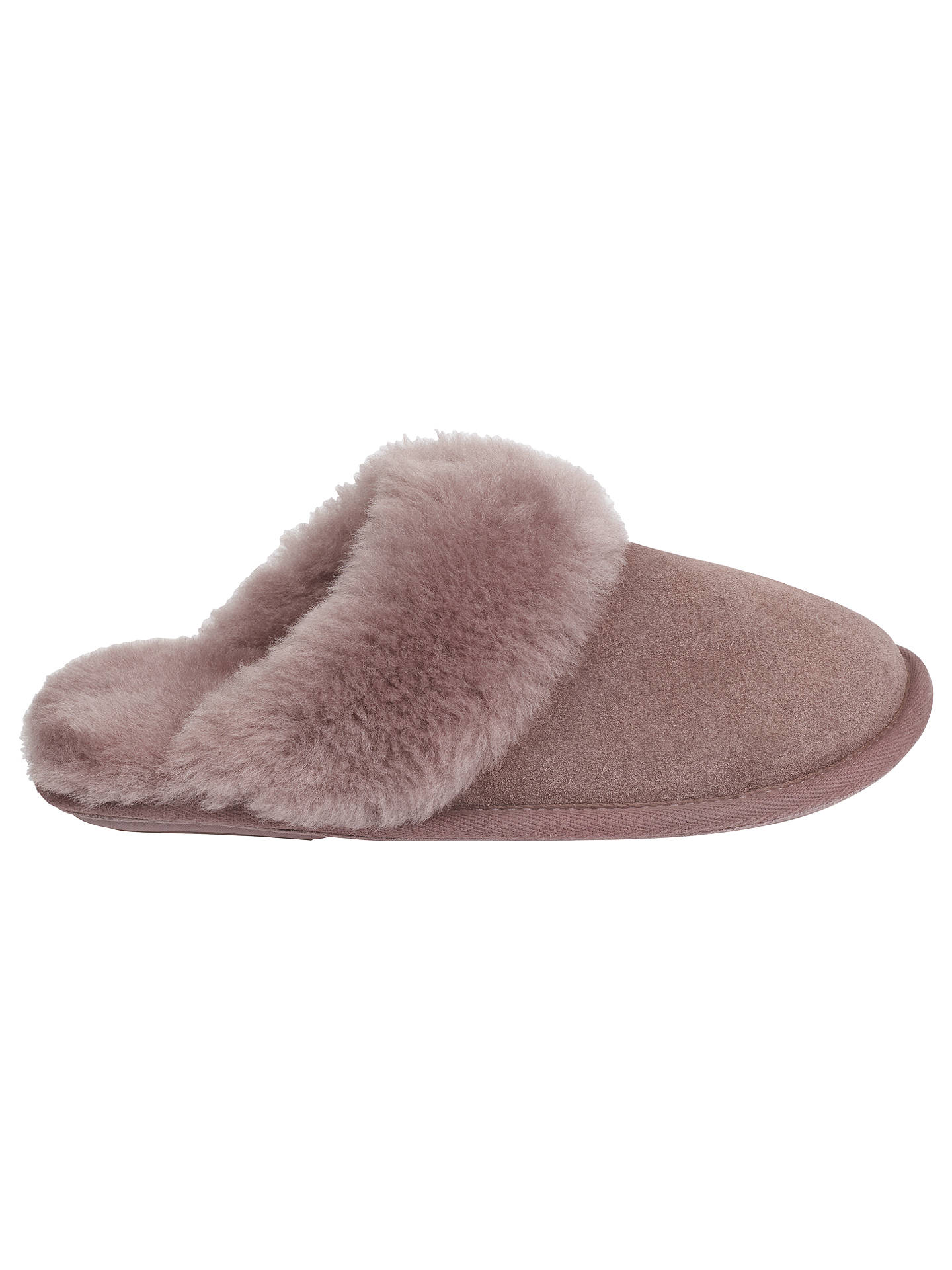 fb372c0d4a739 Buy Just Sheepskin Duchess Mule Slippers, Blush, 5-6 Online at johnlewis.