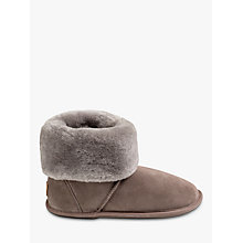 Buy Just Sheepskin Albery Roll Cuff Boot Slippers Online at johnlewis.com
