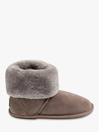 Just Sheepskin Albery Roll Cuff Boot Slippers