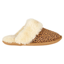Buy Just Sheepskin Duchess Animal Mule Slippers, Multi Online at johnlewis.com