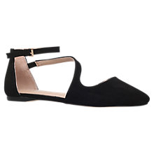 Buy Carvela Maverick Asymmetric Pumps, Black Online at johnlewis.com