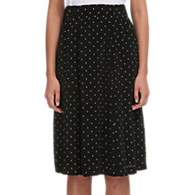 Buy Whistles Spotted Casual Pocket Skirt, White/Black Online at johnlewis.com