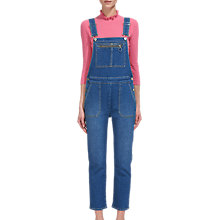 Buy Whistles Denim Dungarees Online at johnlewis.com