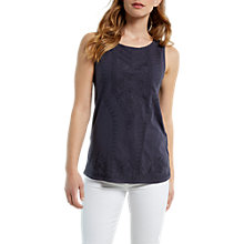 Buy White Stuff Geo Jersey Vest Online at johnlewis.com