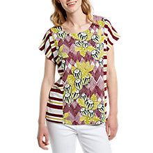 Buy White Stuff Floral Jersey T-Shirt, Multi Online at johnlewis.com