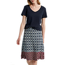 Buy White Stuff Decorative Geo Print Skirt, Multi Online at johnlewis.com