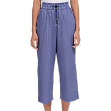 Buy Whistles Ash Elasticated Poplin Trousers, Multi Online at johnlewis.com