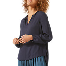 Buy Jigsaw Open Neck Blouse Online at johnlewis.com