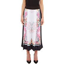 Buy Ted Baker Kilian Painted Posie Culottes Online at johnlewis.com