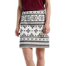 Buy White Stuff Treasure Me Skirt, Ecru/Multi Online at johnlewis.com