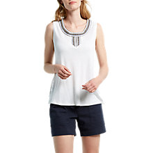 Buy White Stuff Lesotho Jersey Vest Online at johnlewis.com