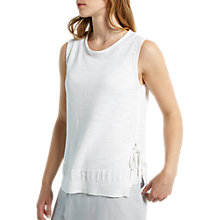 Buy White Stuff Santa Maria Knit Vest, Off White Online at johnlewis.com