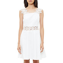 Buy Ted Baker Monaa Lace Detail A-Line Dress Online at johnlewis.com