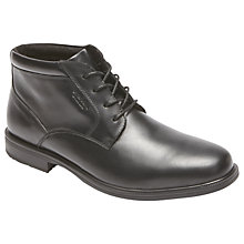 Buy Rockport Essential Details 2 Waterproof Chukka Boots, Black Online at johnlewis.com