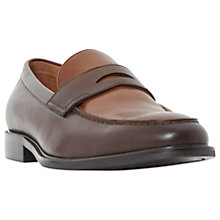 Buy Dune Playa Seam Detail Penny Loafers Online at johnlewis.com