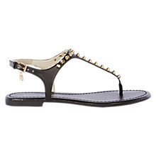 Buy Karen Millen Studded Flat Sandals Online at johnlewis.com