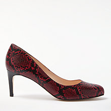 Buy John Lewis Arna Stiletto Heeled Court Shoes, Red Online at johnlewis.com
