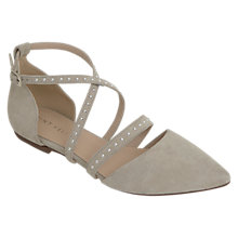 Buy Mint Velvet Becky Pumps, Stone Online at johnlewis.com