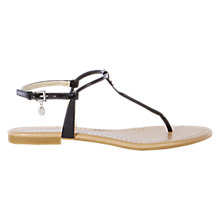 Buy Karen Millen Essential Flat Sandals Online at johnlewis.com