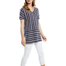 Buy White Stuff Nilly Nolon Tunic, Grey Online at johnlewis.com