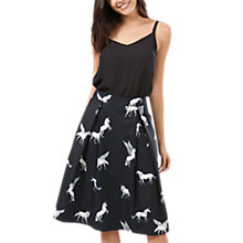 Buy Sugarhill Boutique Make Believe Skirt, Black/White Online at johnlewis.com
