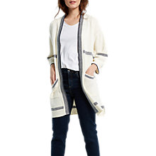 Buy White Stuff Castaway Longline Cardigan, Neutral Online at johnlewis.com