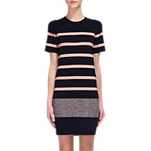 Buy Whistles Stripped Tee Dress, Multi Online at johnlewis.com