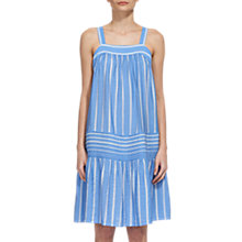 Buy Whistles Simone Sun Dress, Blue/White Online at johnlewis.com