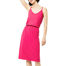 Buy Warehouse Cami Dress, Bright Pink Online at johnlewis.com